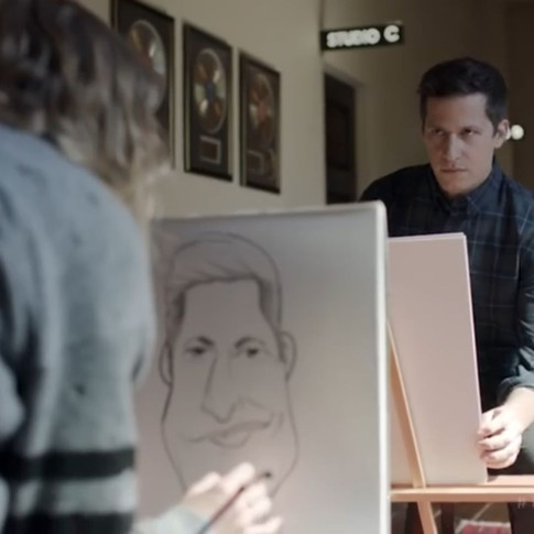 """Caricature's created for """"Taylor Swift Now"""" At & t Commercial"""