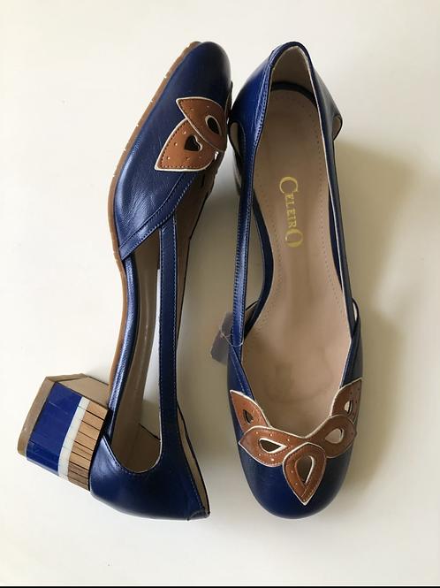 Sapato de couro Celeiro