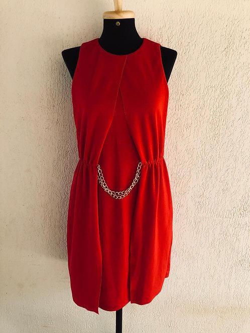 Vestido vermelho Fashion Clinic