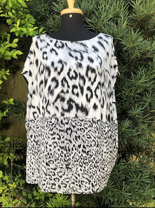 Blusa animal print Zara