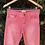 Thumbnail: Calça jeans vermelha Zara Basic