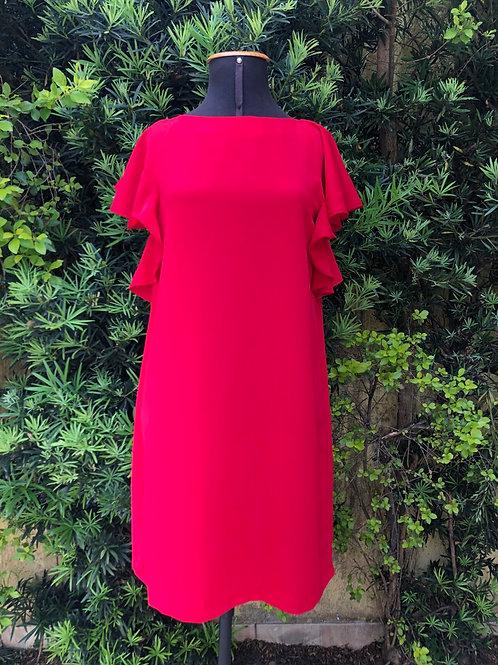 Vestido vermelho Zara Basic