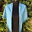Thumbnail: Lenço tapa ombros azul