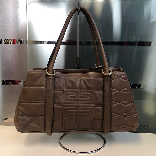 Bolsa de couro marrom Givenchy