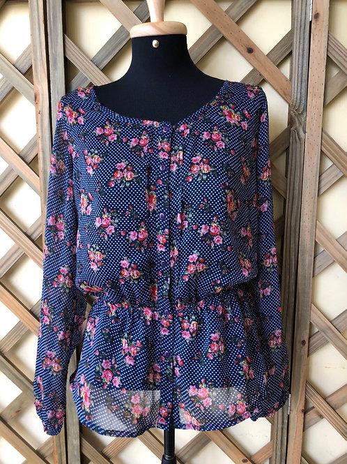 Blusinha flores World Fashion