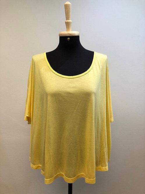 Blusinha larguinha amarela