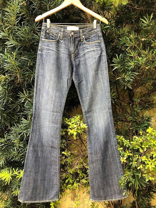 Calça jeans flare Paper Denim