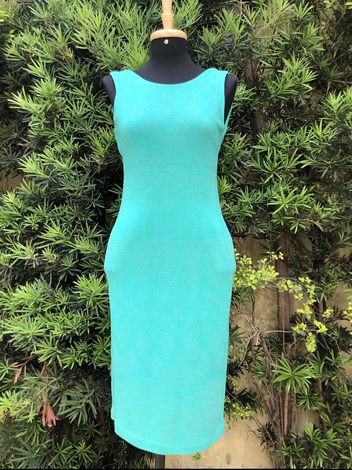 Vestido verde Daniele Mabe