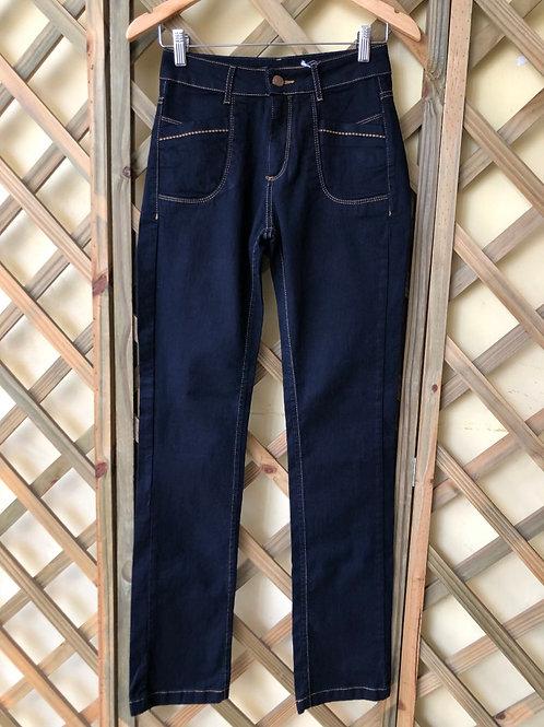 Calça jeans marinho Luigi Bertolli
