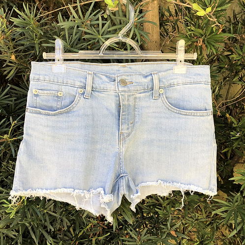 Short jeans claro Levi's
