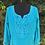Thumbnail: Blusa azul Beleza Indiana