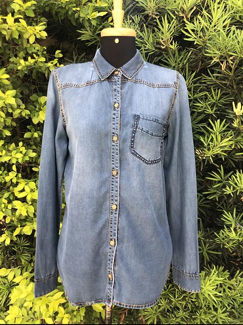 Camisa jeans Zara Trafaluc