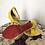 Thumbnail: Sandália amarela Dunes
