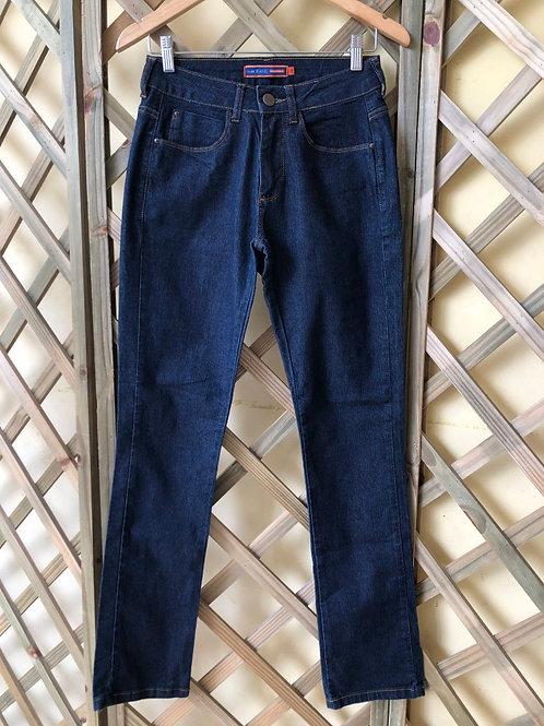 Calça jeans cintura alta Luigi Bertolli