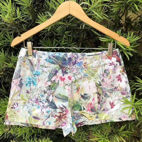 Short floral Zara Basic