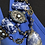 Thumbnail: Colar bijouteria em pedras azuis