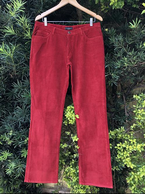 Calça de veludo Luigi Bertolli