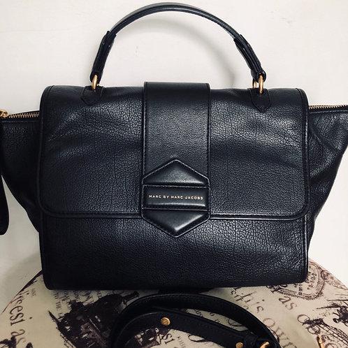 Bolsa de mão preta Marc Jacobs