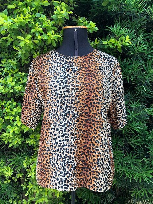 Blusinha animal print