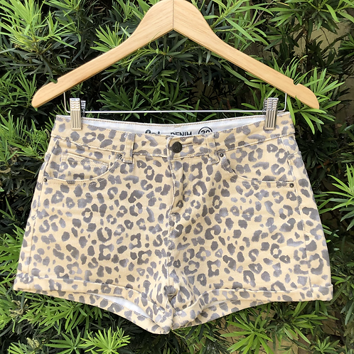 Short animal print Lab