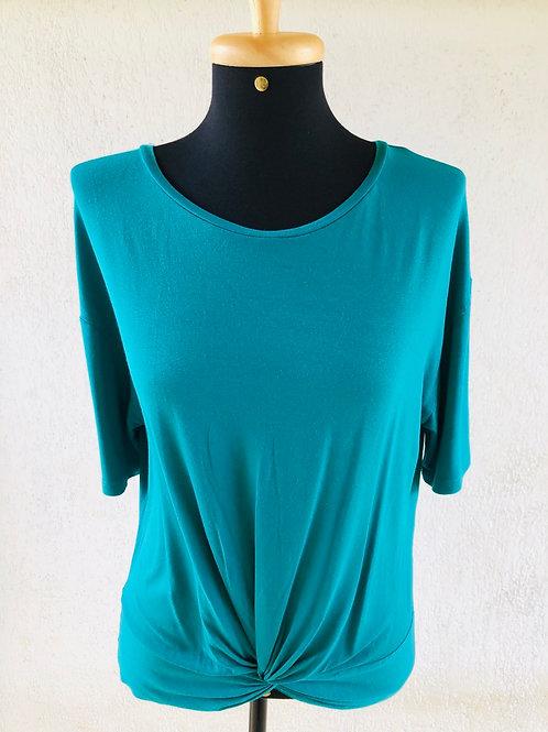 Blusinha básica verde