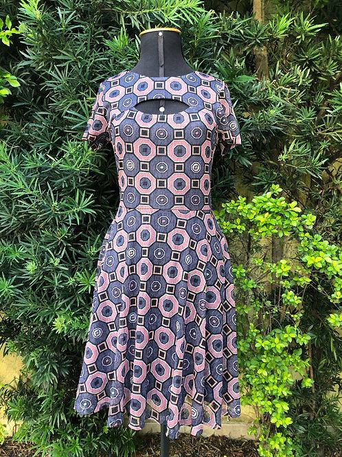Vestido roxo Bar III