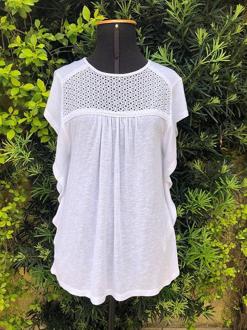 Blusinha branca Marisa