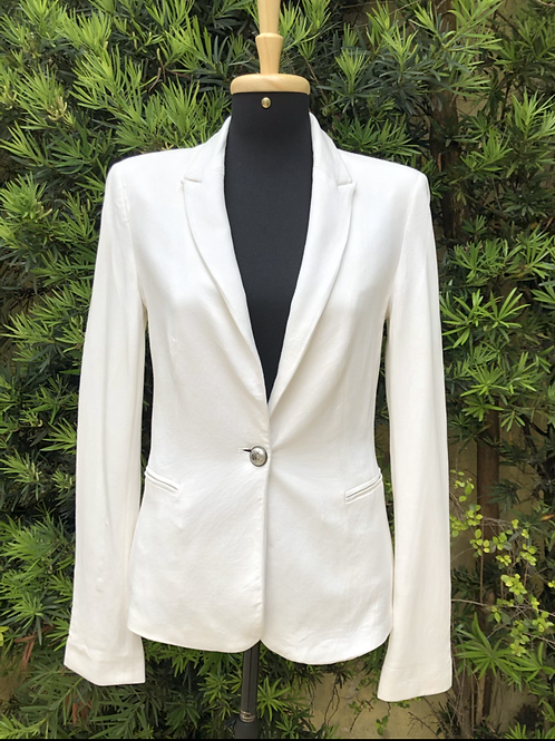 Blazer off white Zara Basic