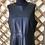 Thumbnail: Vestido de couro eco