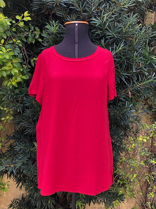 Blusinha vermelha Casual