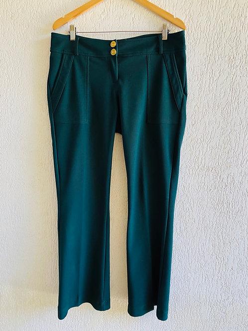 Calça verde Cahelon