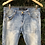 Thumbnail: Calça jeans lavagem manchada Animale