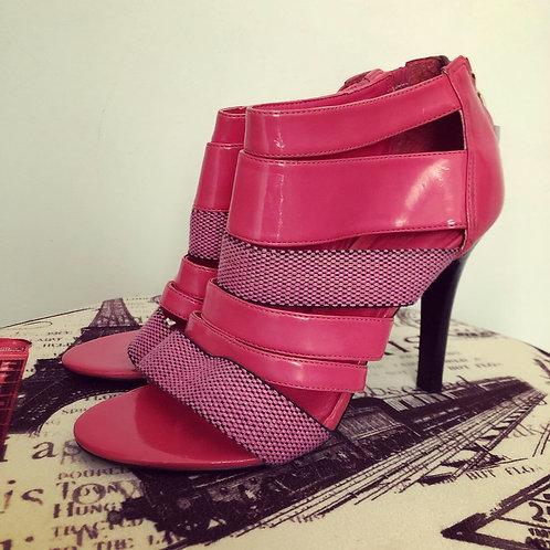 Sandália rosa verniz Triton