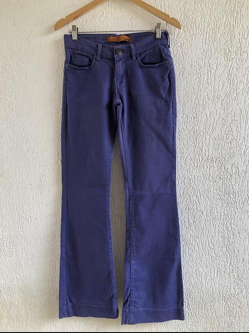 Calça jeans flare azul Canal