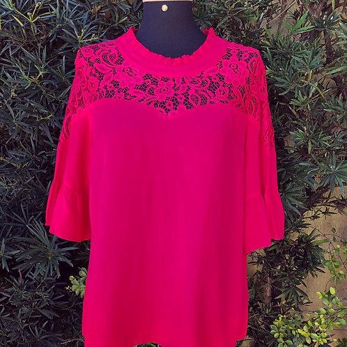 Blusinha Pink Mosaique
