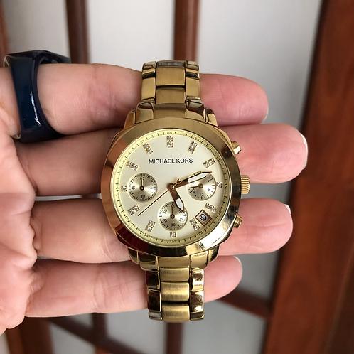 Relógio Michael Kors dourado 5132