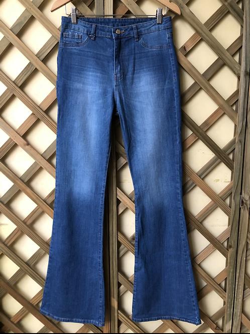 Calça jeans flare Animale