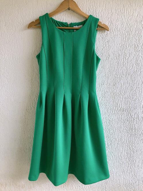 Vestido verde Calvin Klein