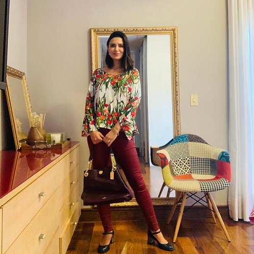 Blusinha floral Yessica
