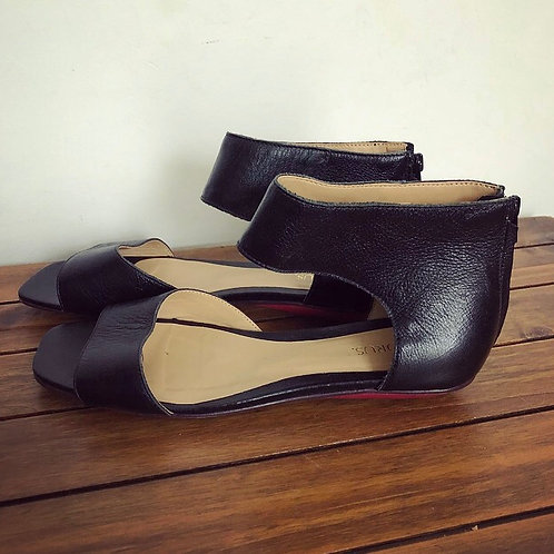 Sandália de couro Torus