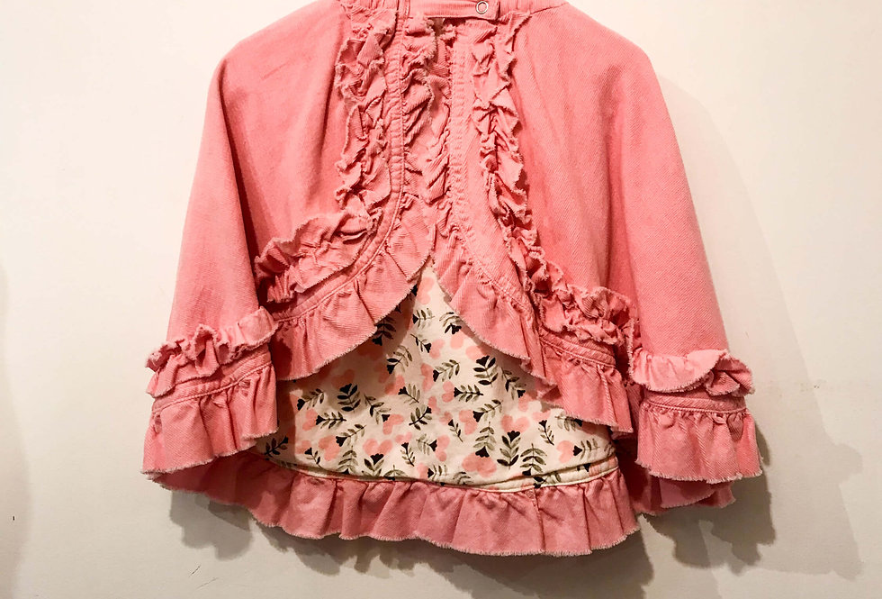 Paperwings - Frilled Corduroy Cape