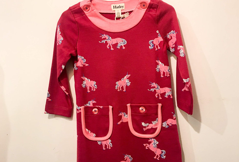 Hatley - Majestic Unicorns Mod Dress