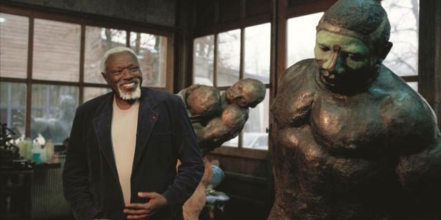 Ousmane Sow sur Kelen, promotion de l'art africain