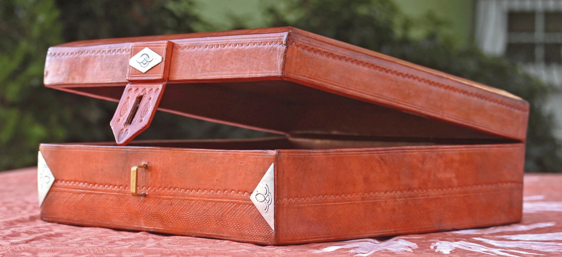 Boîte de rangement touareg