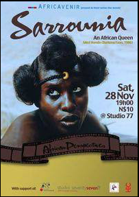 Med Hondo sur Kelen, African event planner