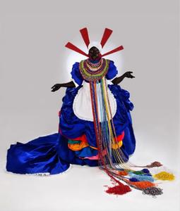 Mary Sibande sur Kelen, promotion de l'art africain