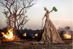 Fabrice Monteiro sur Kelen, promotion de l'art africain