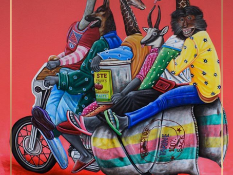 Portrait d'artistes : Abdias Ngateu, artiste libre et engagé.