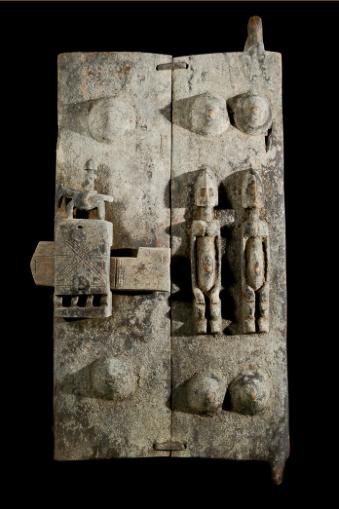 L'art Dogon, porte de grenier, Kelen, promotion de l'art africain