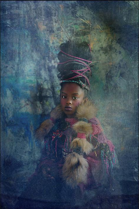 Tawny Chatmon sur Kelen, promotion de l'art africain